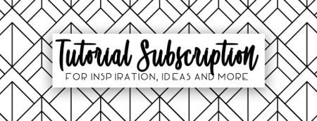 Tutorial Subscription header for blog