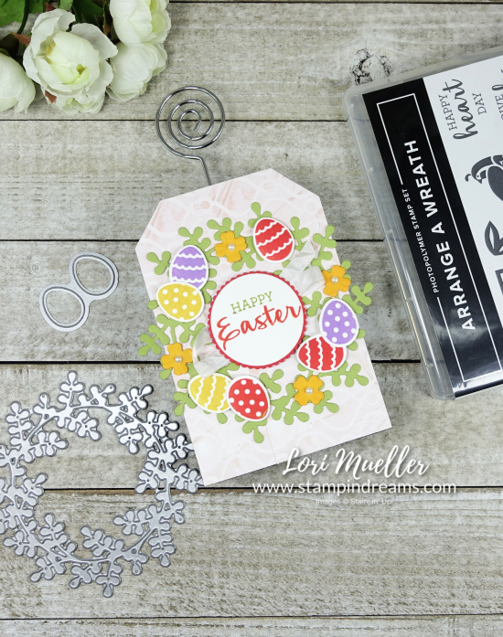 StampItHop-Arrange A Wreath Easter Photo Supplies-Stampin Dreams Lori Mueller-DSC04288