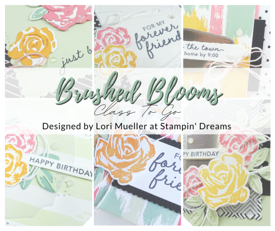 Brushed Blooms Class To Go-Graphic