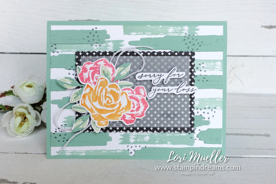 StampItHop-Brushed Blooms-Heal Your Heart Sympathy Front-Stampin Dreams Lori-DSC04183