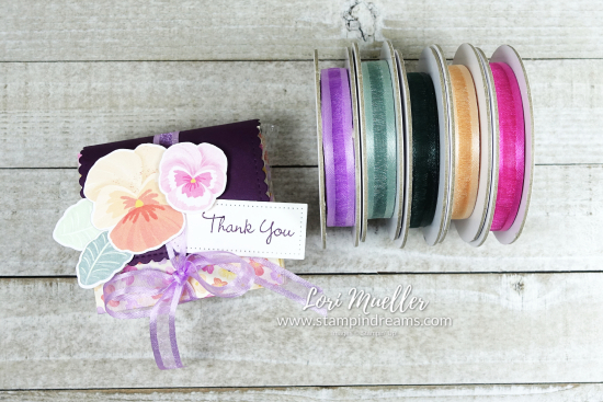 CreativeInkingHop-Pansy Patch Explosion Box Ribbons-Stampin Dreams- Lori Mueller-DSC04667