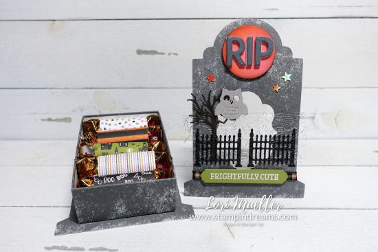 Frightfully Cute Tombstone Treat Box-OpenCandy-Stampin Dreams Lori Mueller-DSC04867